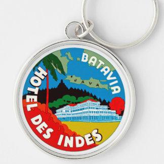 Batavia Hotel Des Indies Keychains