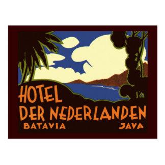 Batavia Java Postcard