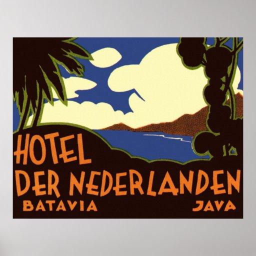 Batavia Java Poster