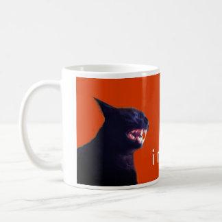 Batcat: I might bite (Mug) Coffee Mug