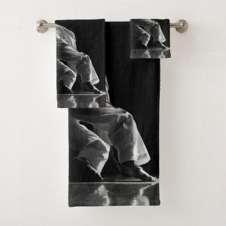 Batch of bath towels TAEKWONDO Of the Tests
