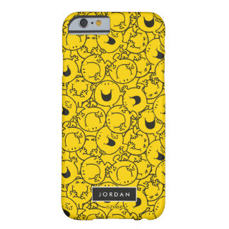 Batch of Yellow Smiles Pattern | Add Your Name Barely There iPhone 6 Case