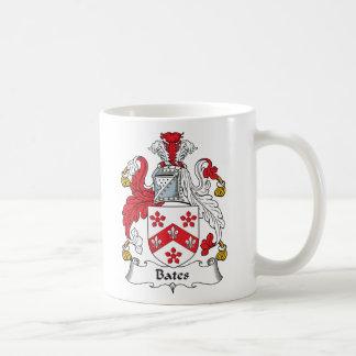 Bates Family Crest Coffee Mug