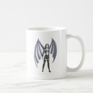 BatGirl Basic White Mug