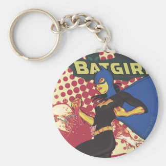 Batgirl Key Ring