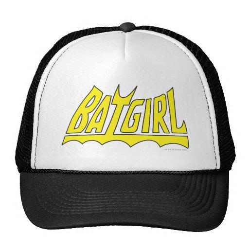 Batgirl Logo Trucker Hats