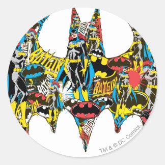 Batgirl - Murderous Round Sticker
