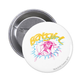 Batgirl Power 6 Cm Round Badge