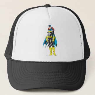Batgirl Stands Trucker Hat