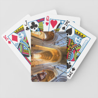 Bath Abbey Architecture Bicycle Playing Cards