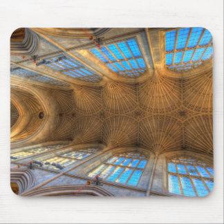 Bath Abbey Ceiling Mouse Pad