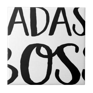 Bath ASS boss Ceramic Tile