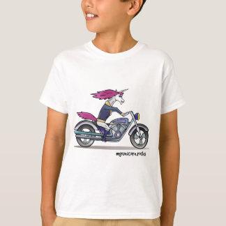 Bath ASS unicorn on motorcycle - bang-hard unicorn T-Shirt