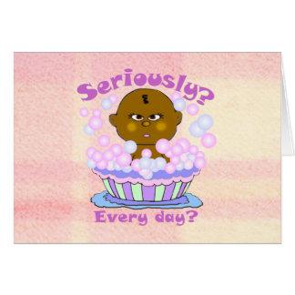 Bath Baby Greeting Cards