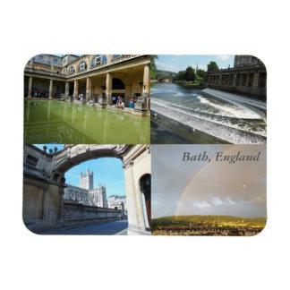 Bath, England 4-panel Magnet