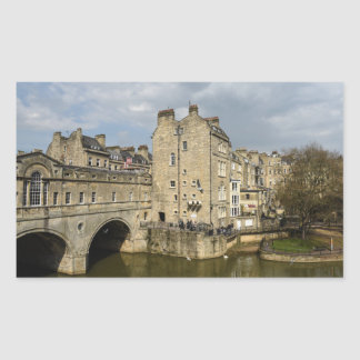 Bath England Rectangular Sticker