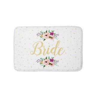 Bath Mat - Floral Bride