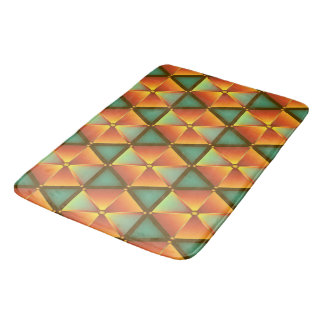 Bath mat honeycomb sample