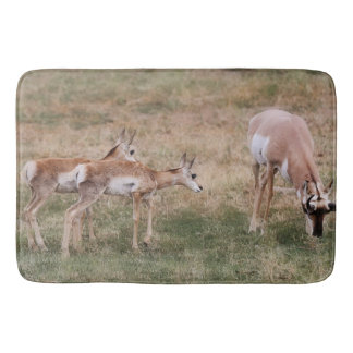 Bath Mat Western Antelope Wildlife Bath Mats
