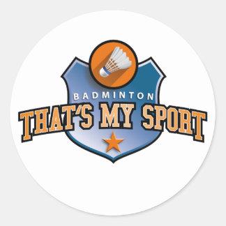 Bath min tone - that's my sport round stickers
