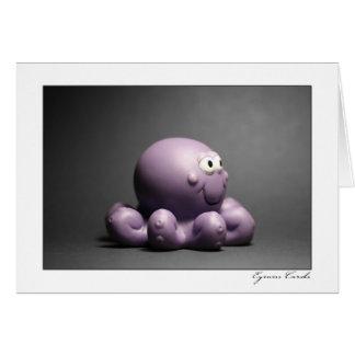 Bath Octopus Card