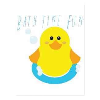 Bath Time Fun Post Cards