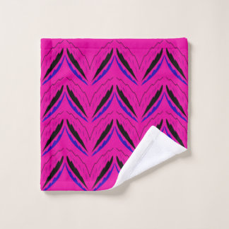 Bath towel pink Ethno