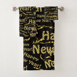 Bath Towel Set,holiday, set, happy new year