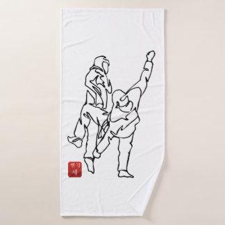 Bath towel TAEKWONDO UNBALANCES