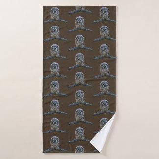 Bath Towel w/ owl