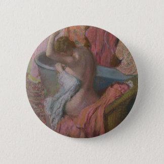 Bather 6 Cm Round Badge