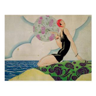 Bather, c.1925 postcard