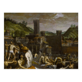 Bathers at San Niccolo Postcard