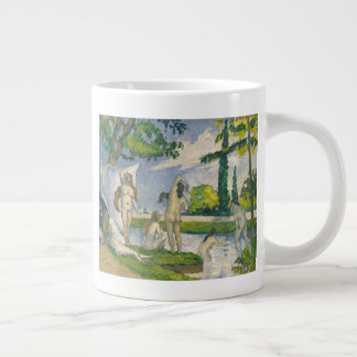 Bathers Large Coffee Mug