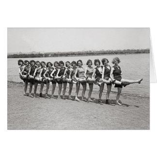 Bathing Beauties, 1923 Card