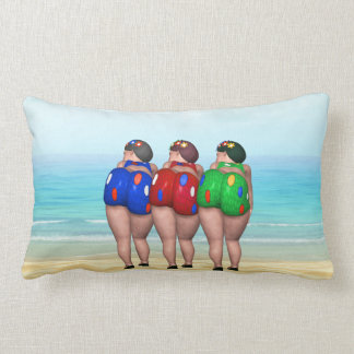 Bathing Beauties Pillows