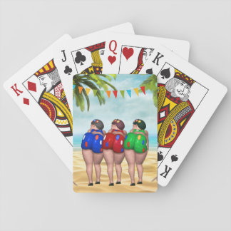 Bathing Beauties Playing Cards