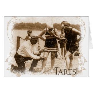 Bathing Suit Tarts Friendship Card