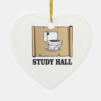 bathroom study hall ceramic ornament
