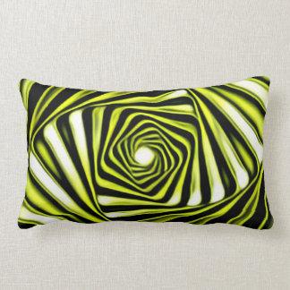 Bathroom Swirly Lumbar Cushion