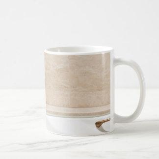 Bathtub faucet mugs