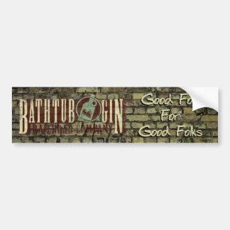 Bathtub Gin Railroad Company Good Folk Sticker