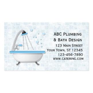 Bathtub, Shower, Tiles Pack Of Standard Business Cards