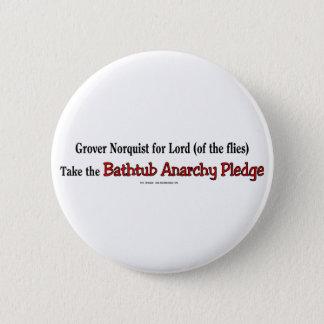 BathtubAnarchyPledge 6 Cm Round Badge