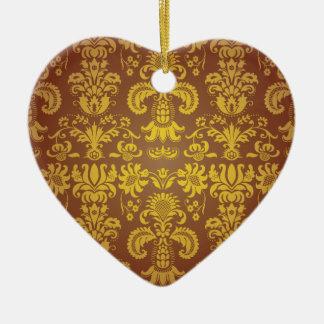 Batik Bali style design Ceramic Ornament