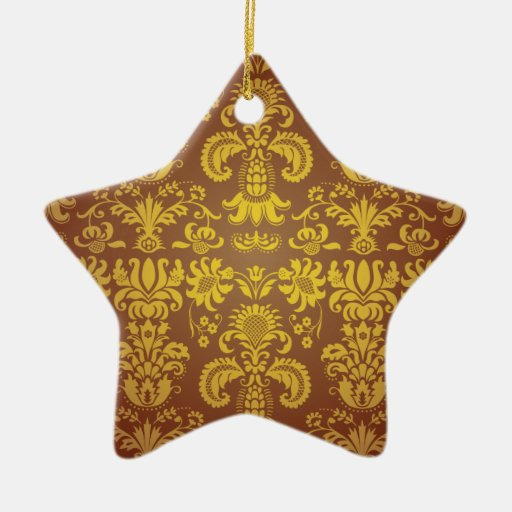 Batik Bali style design Christmas Ornament