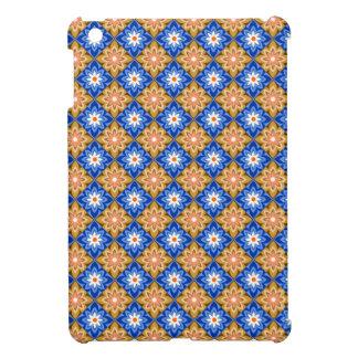 Batik Blue n brown iPad Mini Cover
