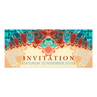 Batik Exotic Birthday Special Occasion Invitatio Custom Announcements