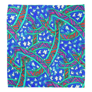 Batik-Look on Bandana