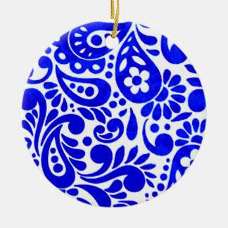 batik mega 03 ceramic ornament